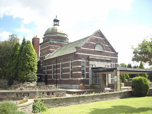 Cypress Chapel at Stockport Crematorium