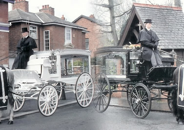 Horse Drawn Funeral Fleet 2
